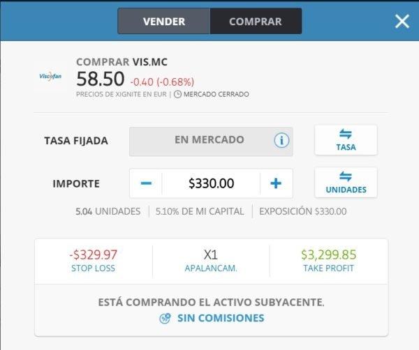 comprar acciones Viscofan, acciones Viscofan, invertir acciones Viscofan