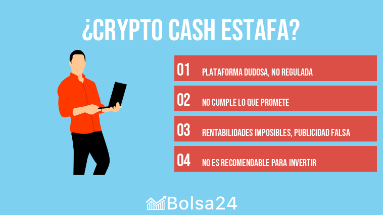 Crypto Cash estafa
